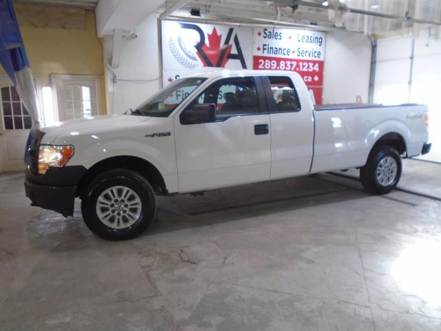 "2013 Ford F-150 4WD SuperCab 163"" XLT SAFETY PW PL PM ALLOY"