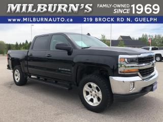 Used 2017 Chevrolet Silverado 1500 1LT 4x4 / Leather / Heated Seats for sale in Guelph, ON