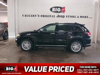 Used 2017 Jeep Grand Cherokee Summit 4WD for sale in Calgary, AB