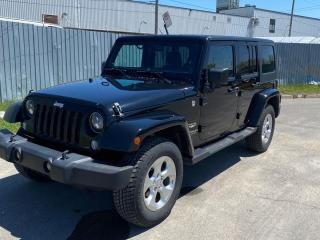 Used 2014 Jeep Wrangler UNLIMITED SAHARA | NAVI | HART TOP | BLUETOOTH for sale in Waterloo, ON