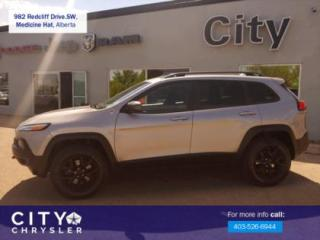 Used 2017 Jeep Cherokee Trailhawk for sale in Medicine Hat, AB