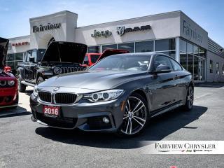Used 2016 BMW 4 Series 435i l M-SPORT l SUNROOF l for sale in Burlington, ON
