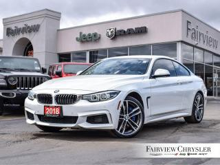 Used 2018 BMW 4 Series 440i xDrive Coupe l SUNROOF l NAV l  RED LEATHER l for sale in Burlington, ON