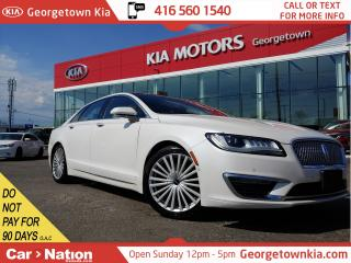 Used 2017 Lincoln MKZ Reserve AWD | LEATHER | NAVI | BU CAM | ROOF for sale in Georgetown, ON