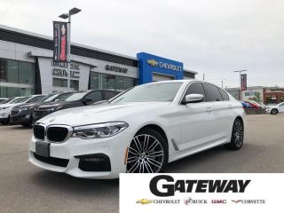 Used 2019 BMW 5 Series 530i xDrive/NAVI/SUNROOF/X-DRIVE for sale in Brampton, ON