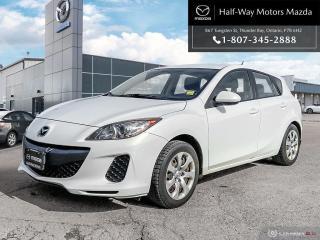 Used 2012 Mazda MAZDA3 Sport GS 6sp for sale in Thunder Bay, ON