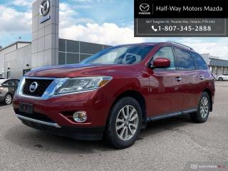 Used 2013 Nissan Pathfinder SV V6 4x4 at for sale in Thunder Bay, ON