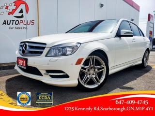 Used 2011 Mercedes-Benz C-Class 4dr Sdn 3.5L 4MATIC for sale in Scarborough, ON