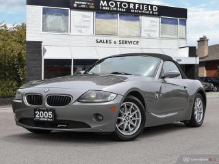 Used 2005 BMW Z4 Roadster 2.5i *Accident Free, Excellent Shape* for sale in Scarborough, ON