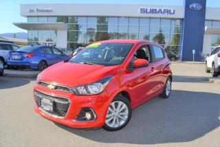 Used 2017 Chevrolet Spark 1LT Manual - 52000KM for sale in Port Coquitlam, BC