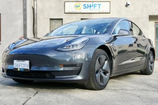 Used 2018 Tesla Model 3 LONG RANGE ALL WHEEL DRIVE ENHANCED AUTOPILOT, 18 INCH AERO WHEELS for sale in Burlington, ON