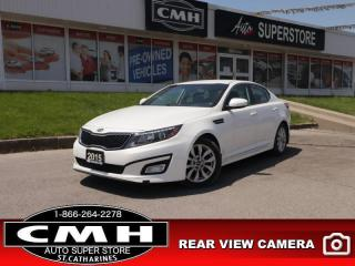 Used 2015 Kia Optima EX  REAR-CAM BLUETOOTH HTD-SEAT P/SEAT for sale in St. Catharines, ON