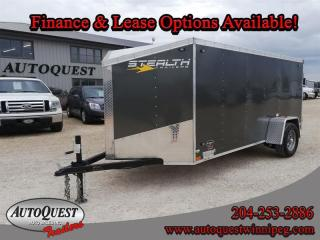 Used 2020 Stealth Cargo Trailer 5' x 12' V-Nose for sale in Winnipeg, MB