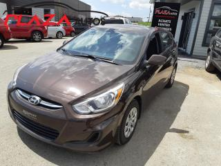 Used 2016 Hyundai Accent 5DR HB MAN GL for sale in Beauport, QC
