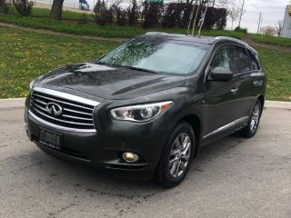 Used 2014 Infiniti QX60 Premium Driver Assist Package Navigation,360 CAM for sale in North York, ON