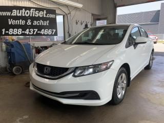Used 2015 Honda Civic 4dr Auto LX for sale in St-Raymond, QC