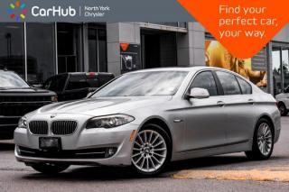 Used 2011 BMW 5 Series 535i HeadsUp Displ.Sunroof.Nav.Memo Seats.Dual Climate.Heat Seats for sale in Thornhill, ON