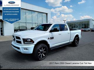 Used 2017 RAM 2500 Laramie, Cummins' CUIR, TOIT, NAV for sale in Victoriaville, QC