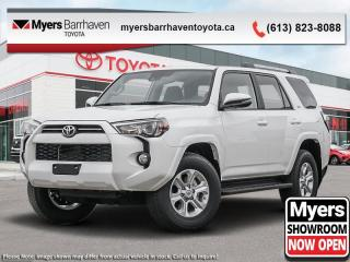 New 2020 Toyota 4Runner SR5  - Sunroof -  SofTex Seats - $331 B/W for sale in Ottawa, ON