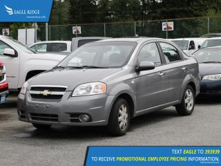 Used 2007 Chevrolet Aveo LT for sale in Coquitlam, BC