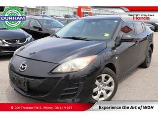 Used 2010 Mazda MAZDA3 4dr Sdn Auto GS for sale in Whitby, ON