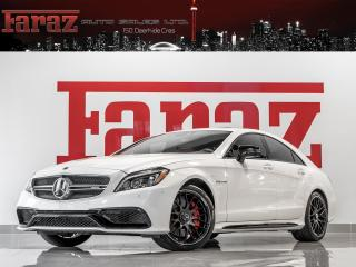 Used 2017 Mercedes-Benz CLS 63 AMG AMG S-MODEL|DISTRONIC|MASSAGE|CARBON FIBER|575HP|FULLY LOADED for sale in North York, ON