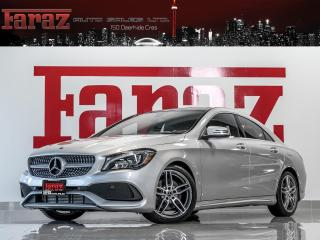 Used 2018 Mercedes-Benz CLA250 AMG|4MATIC|BLINDSPOT|REAR CAM|PANO|LOADED for sale in North York, ON