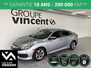 Used 2018 Honda Civic LX ** GARANTIE 10 ANS ** Véhicule fiable et agréable! for sale in Shawinigan, QC