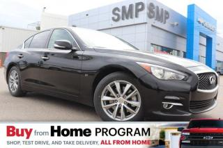 Used 2014 Infiniti Q50 Premium - AWD, Leather, Sunroof, Rem Start, New Tires for sale in Saskatoon, SK