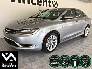 Used 2015 Chrysler 200 C V6 AWD ** GARANTIE 10 ANS ** Véhicule performant de classe luxe! for sale in Shawinigan, QC
