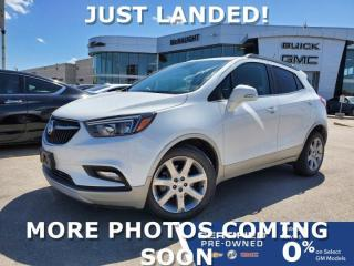 Used 2017 Buick Encore Preferred II | Touchscreen Navigation | Sunroof for sale in Winnipeg, MB