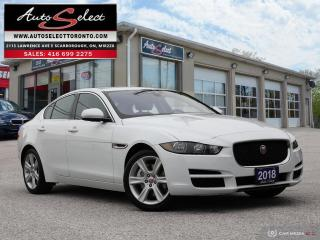 Used 2018 Jaguar XE 25t Prestige AWD ONLY 61K! **TECHNOLOGY PKG** CLEAN CARPROOF for sale in Scarborough, ON