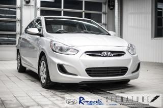 Used 2013 Hyundai Accent GL Chez Rimouski Hyundai for sale in Rimouski, QC