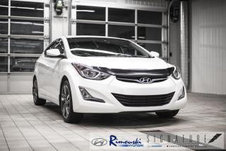 Used 2016 Hyundai Elantra GLS chez Rimouski Hyundai for sale in Rimouski, QC
