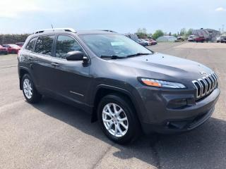 Used 2015 Jeep Cherokee North V6 4x4 for sale in Pintendre, QC