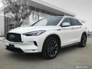 Used 2019 Infiniti QX50 LUXE Navigation! Blindspot! for sale in Winnipeg, MB