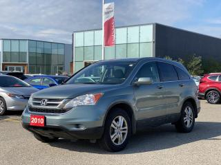Used 2010 Honda CR-V Sold Pending Customer Delivery! Accident Free, One Owner 2010 CR-V EX! for sale in Waterloo, ON