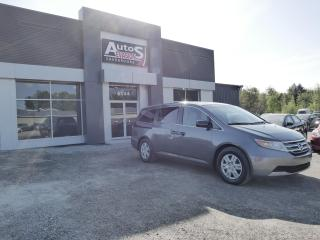 Used 2011 Honda Odyssey LX 7 PASSAGERS + INSPECTÉ for sale in Sherbrooke, QC