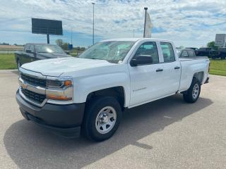 Used 2017 Chevrolet Silverado 1500 4WD Double Cab, Work Truck for sale in Ingersoll, ON