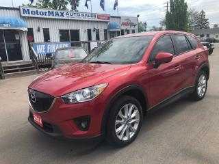 Used 2014 Mazda CX-5 GT-AWD-ACCIDENT FREE for sale in Stoney Creek, ON