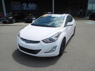 Used 2015 Hyundai Elantra LIMITED,NAVI,CUIR,TOIT,A/C,BANC CHAUFF. BLUETOOTH for sale in Mirabel, QC
