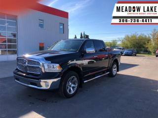 Used 2017 RAM 1500 Laramie  - Leather Seats -  Cooled Seats - $236 B/W for sale in Meadow Lake, SK