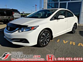 Used 2015 Honda Civic 4 portes boîte manuelle EX for sale in Sorel-Tracy, QC