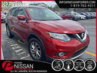 Used 2015 Nissan Rogue SL for sale in Rouyn-Noranda, QC