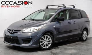 Used 2009 Mazda MAZDA5 6 places Automatic Garantie 1 AN for sale in Boisbriand, QC