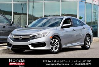 Used 2016 Honda Civic LX AUTO BAS KM AUTO BAS KM BLUETOOTH for sale in Lachine, QC