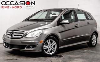 Used 2007 Mercedes-Benz B-Class Turbo...Full equip for sale in Boisbriand, QC