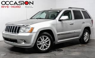Used 2008 Jeep Grand Cherokee 4WD Limited  diesel for sale in Boisbriand, QC