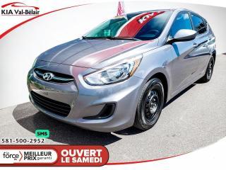 Used 2017 Hyundai Accent *L*LECTEUR CD* PRISE AUX* for sale in Québec, QC
