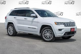 Used 2018 Jeep Grand Cherokee Overland for sale in Barrie, ON